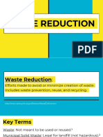 waste reduction copy