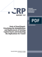 21) TCRP Report 157 - State of Good Repair (U.S. 2012)
