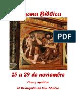 Cartel Semana Bíblica 2019