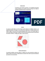 Proyección, Figura, Oblicua, Trazo, Paralela, Ortografico Etc