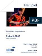 Richard GRAF Konzert 23. Nov. 2019 Roter Salon