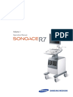 Samsung Sonoace R7 Ultrasound - User Manual