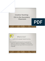 An Introduction to CLIL With Scaffolding and Differentiation PPT