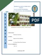 Informe Jorge Chavez