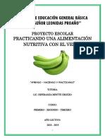 Proyecto - Gastronomia de Verde Colegio