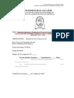 Guia Para Diagnostico Financiero y Propuestas de Proyectos de Inversión a Restaurantes de Pollo y Comida Rápida 2018
