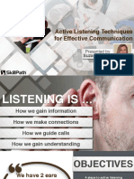 Active Listening Techniques for Eff