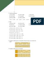 Matematicas Resueltos (Soluciones) Números.Proporcionalidad, Mezclas e Interés 3º ESO 1ª Parte