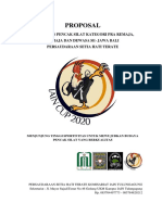 Proposal Kegiatan Iain Cup 2020 (Peserta)
