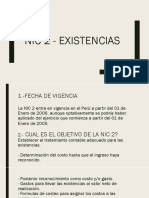 2.- Nic 2 - Existencias