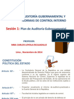 3520 Plan de Auditoria Gubernamental 2014