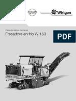 Fresadora W150
