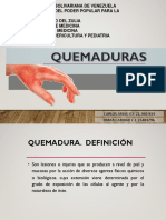 QUEMADURAS PEDIATRIA 2019