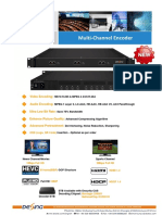 DX3224H (DX3224HV) Multi-Channel Encoder Spec 2019.6.27