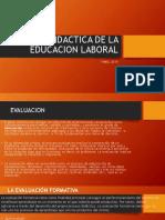 Preguntas Didactica De La Educacion Laboral