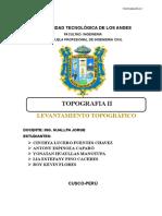 Topografía - Informe Final