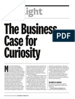 The Bussiness Case for Curiosity