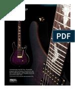 Guitar World 2007 - Prs Paul Allender Signature