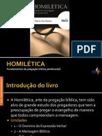 Unidade I - Homilética.ppsx
