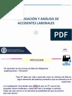 Investigacion y analisis de accidentes laborales
