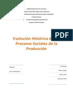 Evolucion Historica de Los Procesos Sociales de Producción (1)