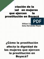 Caracterización de las mujeres que ejercen la prostitución en Boyacá
