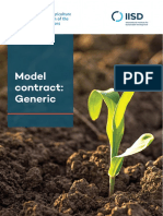 Contract Farming Template Generic