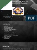 Full Subtractor - Digital Analysis