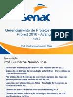 Gerenciamento de projetos SENAC