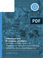 ICSR Report Polemical and Fratricidal Jihadists a Historical Examination of Debates Contestation and Infighting Within the Sunni Jihadi Movement