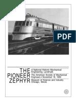 58 Pioneer Zephyr 1934