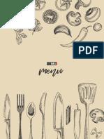 MOMO menu