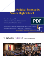 Teaching Political Science