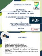 Conferencia in Congreso Huánuco[1]