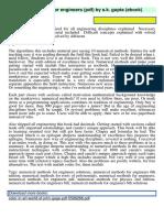 Numerical Methods for s k Gupta PDF 2333980