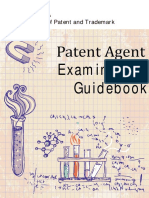 Patent Agent Examination Guidebook