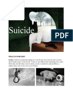 Suicide - What is Suicide?