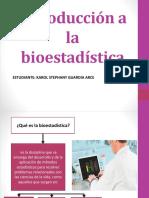Exposicion Introduccion a La Bioestadistica