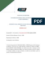 Edital Mesas Discentes VIIISAHIS-1 PRORROGADO