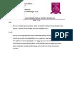 Testing Dan Implementasi Sistem Informasi Sesi 1