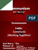 Communism Philosophy