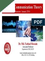 Communication PCM