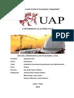 Evaluacion Estructural de Pavimentos Por Deflectometria