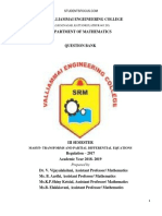 MA8353-Transforms and Partial Differential Equations