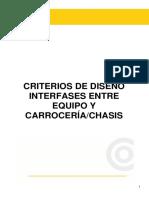 criterios de diseño interfase entre equipos y carrocería