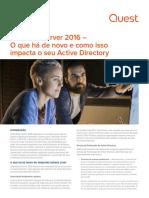 Windows Server 2016 o Que h de Novo e Como Isso Impacta o Seu Active Directory White Paper 24909