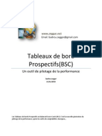 Les Tableaux de Bord Prospectif (Balanced Score Cards)