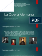 La Opera Alemana
