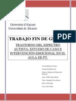Trastorno Del Espectro Autista Estudio de Caso e Interve GARCIA BERNA PABLO