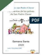Colegio San Pedro Claver Semana Santa 2020